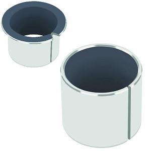 Втулки TEF/MET ( сталь/PTFE, SF1 )