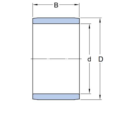 MGB - Кольцо IR 45x50x35 LDI