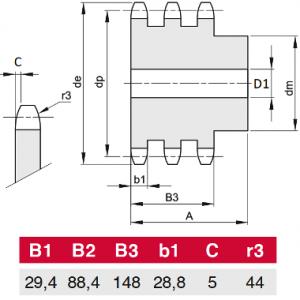 MGB - 28B-3 Z57