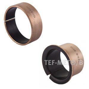 Втулки TEF/MET B ( бронза/PTFE, SF1B )