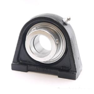 MGB - Корпусной подшипниковый узел с коротким основанием из термопластика Корпус PA 204 PL