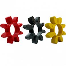 Упругие элементы (Полиуретановые звездочки) для кулачковых муфт